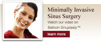 minimally invasive sinus surgery